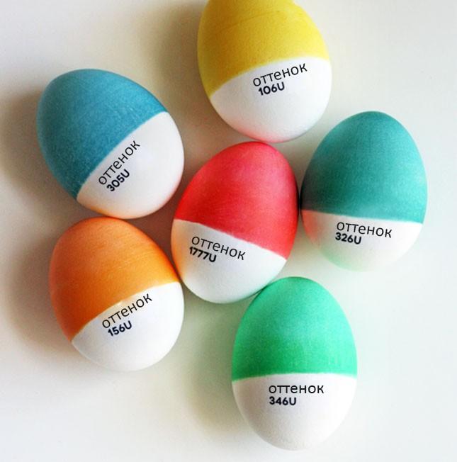 оригинальные идеи декора пасхальных яиц