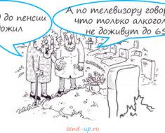 Новые анекдоты про пенсию